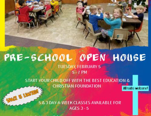 2019-2020 Preschool Open House & Enrollment